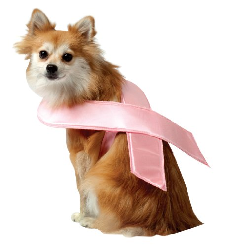 Rasta Imposta Pink Ribbon Dog Costume, X-Large, My Pet Supplies