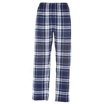 Amazon.com: Touch Of Europe Flannel Pants Boys Plaid Check Cut ...