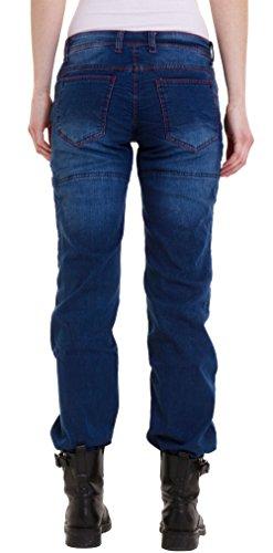 Pants Light Blue Revestimiento Pantalones Denim nbsp;motocicleta Motorcycle Jeans Protector Mujer Biker Qaswa pHax44