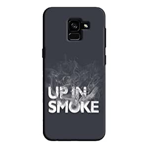 Cover It Up - Up In Smoke Galaxy A7 2018 Hard Case