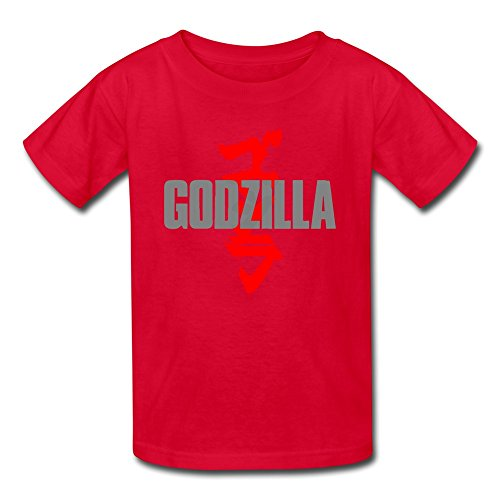 [AOPO Godzilla MUTO Tshirts For Kids Unisex X-Large Red] (Anguirus Costume)