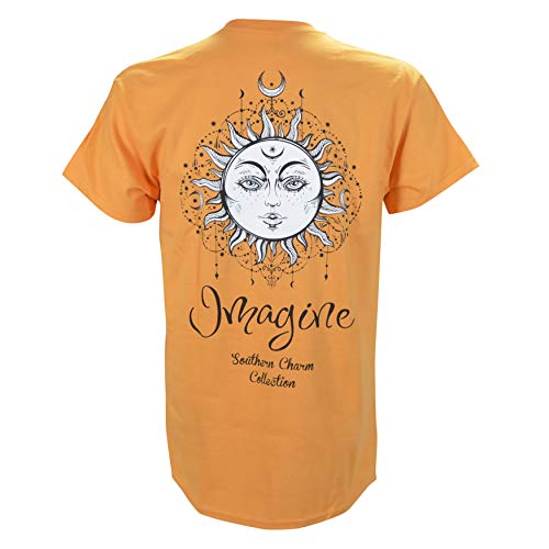 (Southern Charm Imagine Sun on a Tangerine T Shirt)