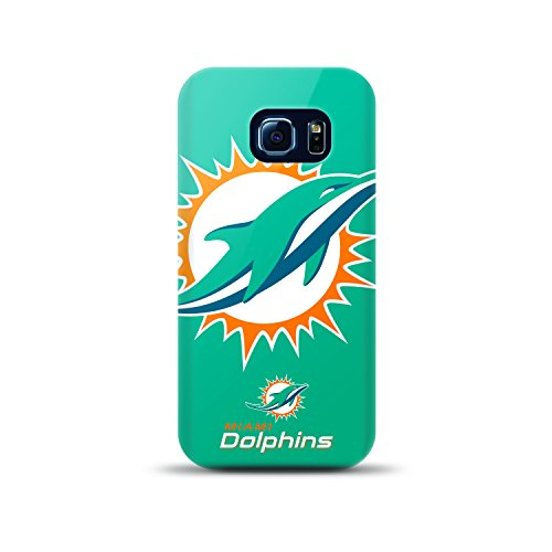 Mizco Sports Case Samsung Galaxy S6 Edge Licensed TPU NFL Miami Dolphins Case