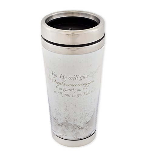 Dicksons Angels Guard You in All Your Ways Psalm 91:11 Scripture 16 Ounce Stainless Steel Travel Tumbler Mug