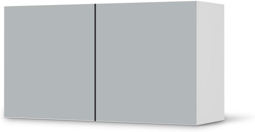 Los muebles-pegatinas de IKEA Besta estantería de cruz de 2 ...