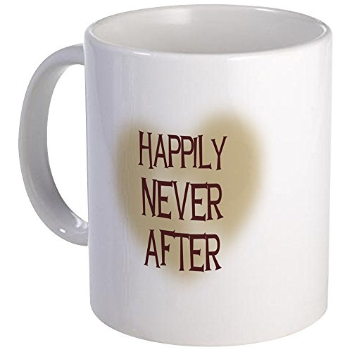 CafePress - Happily Never After Mug - Unique Coffee Mug, Coffee Cup