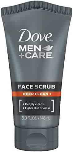 Dove Men+Care Face Scrub, Deep Clean Plus 5 oz.