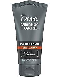 Dove Men+Care Face Scrub, Deep Clean Plus 5 oz.