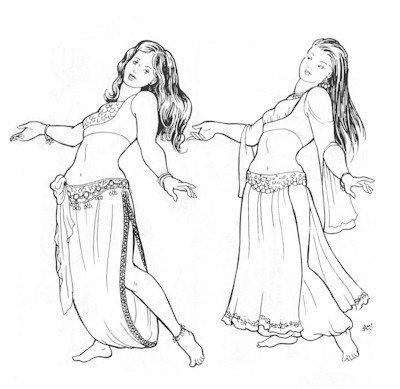 Sharreh's Skirts Pattern (Belly - Pattern Skirt Dance