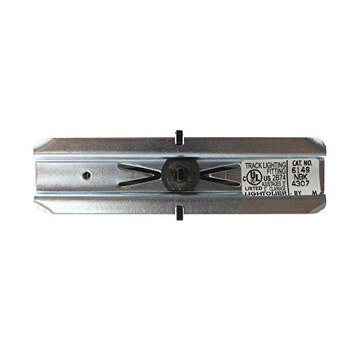 Lightolier 6149NBK Lytespan Track Lighting Advent Joiner Coupler With Spline
