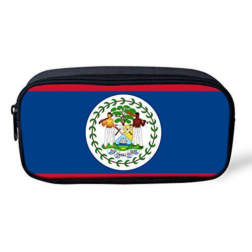 (Pencil Pen Case Travel Cosmetic Makeup Bag Pouch Holder Box Organizer Belize)
