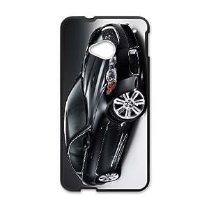 HTC One M7 Cell Phone Case Black Jaguar D2298946