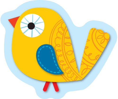 Boho Birds Cut-Outs Carson Dellosa Pub Co Inc 120130 Education General