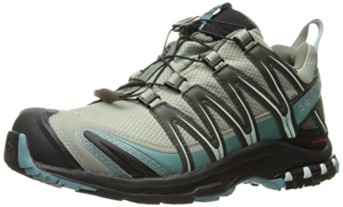 Salomon Women's XA Pro 3D CS Waterproof W Trail-Runners, Shadow, 6.5 M US
