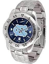 NCAA Stainless Steel Team Logo Mens Watch