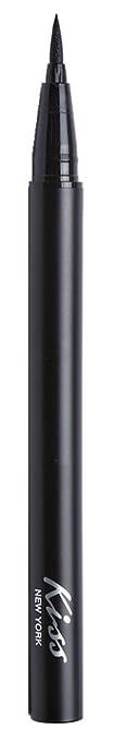 Kiss Ruby Kisses Eyeliner Liquid High Precision Black (6 Pack)