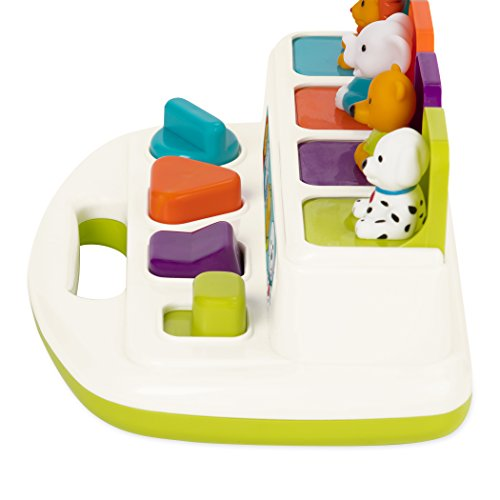 410qOtCFDeL - Battat Pop Up Pals Cause and Effect Learning Toy for Babies