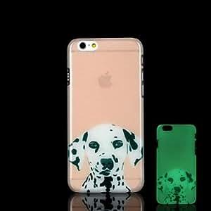 LCJ Dalmatians Pattern Glow in the Dark Hard Case for iPhone 6