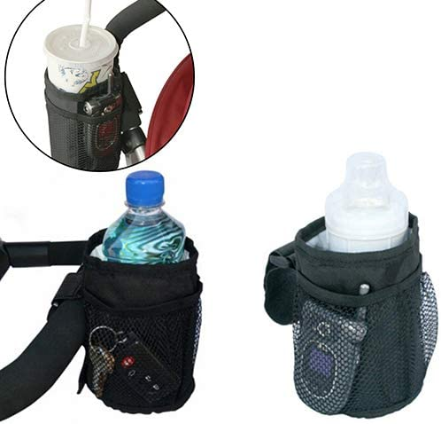 TLfyajJ Botella Puerta Beb/è Taza portavasos pram Buggy Organizador Parent Consola