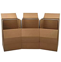 Wardrobe Moving Boxes (3-Pack)