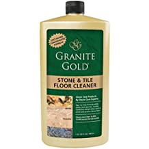 Granite Gold Stone & Tile Floor Cleaner concentrated no-rinse marble floor cleaner, travertine floor cleaner, slate floor cleaner, granite floor cleaner, tile floor cleaner,  32 oz.