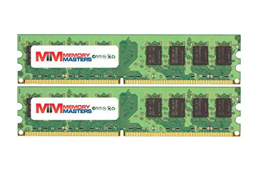 - MemoryMasters 4GB (2x2GB) DDR2-533MHz PC2-4200 Non-ECC UDIMM 2Rx8 1.8V Unbuffered Memory for Desktop PC