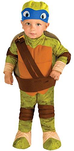 Baby-boys - Tmnt Leonardo Toddler Costume 2t-4t Halloween Costume (Ninja Turtles Halloween Costumes)