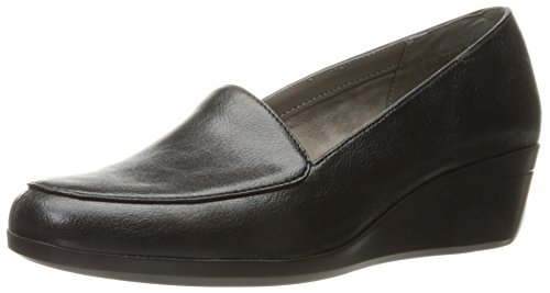 Aerosoles Women's True Match Slip-on Loafer, Black, 9.5 M US