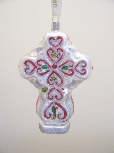 (Waterford Holiday Heirlooms Victorian Cross Ornament)