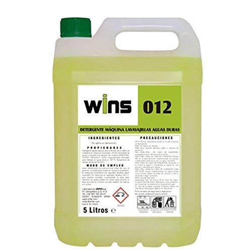 Wins. Detergente máquinas lavavajillas Aguas duras Wins 012 ...