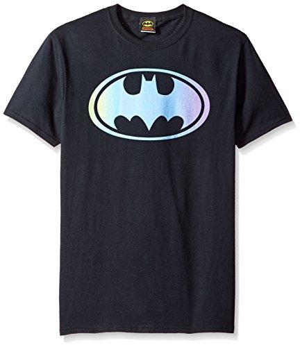 DC Comics Men's Batman Gradient Bat Logo T-Shirt