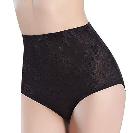 dc9e4eecc0b28 Buy Homely Women High Waist Bodycon Intimate Solid Shapewear Slim Briefs  Tummy Control Breathable Pantie Shape New  Black