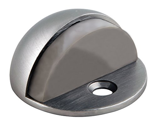 Satin Nickel Screws (Design House 204735 Floor Mounted Dome Shaped Door Stop, Satin Nickel)