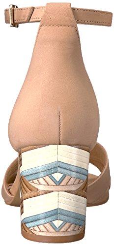 Steven Af steve Madden Kvinders Voomme-s Kjole Sandal Tan Nubuck 6KXFTJ