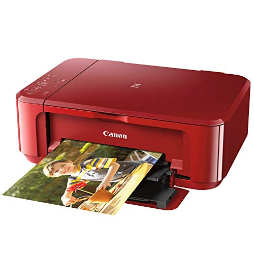 Canon PIXMA MG3620 Wireless All-in-One Inkjet Printer (Red) 0515C042AA by CAN0N