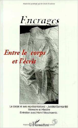 Livres gratuits Entre le corps et l'écrit pdf ebook