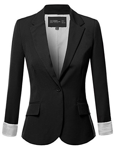 FPT Womens Basic Boyfriend Blazer (S-3XL)