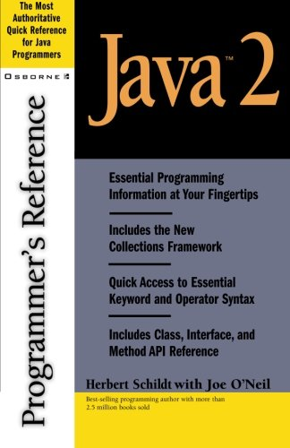 Java 2 Programmer's Reference by McGraw-Hill