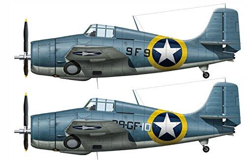 Hasegawa HAS02240 1:72 F4F-4 Wildcat 'Operation Torch' Duel Combo [2 kits] [MODEL BUILDING KIT]