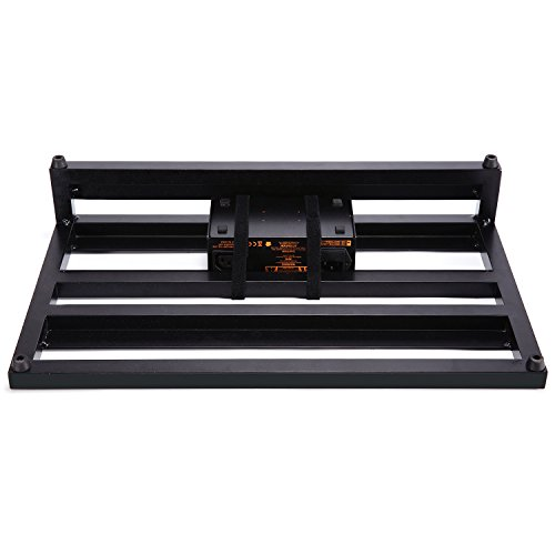 Donner Guitar Pedal Board Case DB-3 Aluminium Pedalboard 20'' x 11.4'' x 4'' with Bag by Donner (Image #4)