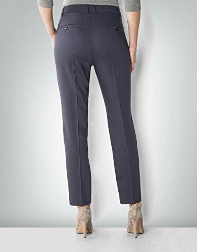 Laurèl Damen Hose Schurwollmix Pant Unifarben, Größe: 36, Farbe: Blau