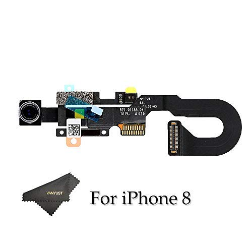 VANYUST Replacement Front Facing Camera Module with Sensor Proximity Light and Microphone Flex Cable Compatible for iPhone 8 (4.7 inch)
