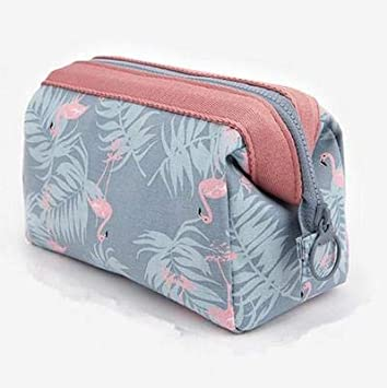 Amazon.com   Makeup Bag Travel Cosmetic Bags Brush Pouch Toiletry Kit  Fashion Women Jewelry Organizer Multifunction Portable Make Up Carry Case  (Blue)   ... ae1116f9ded6b