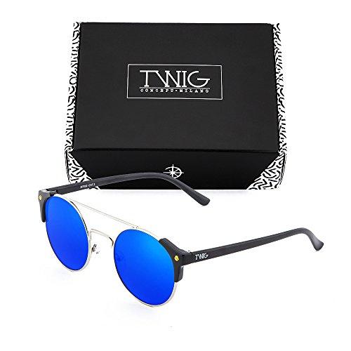 soleil Concept Noir Milano Homme Lunettes de Bleu TWIG wPT1qZRq