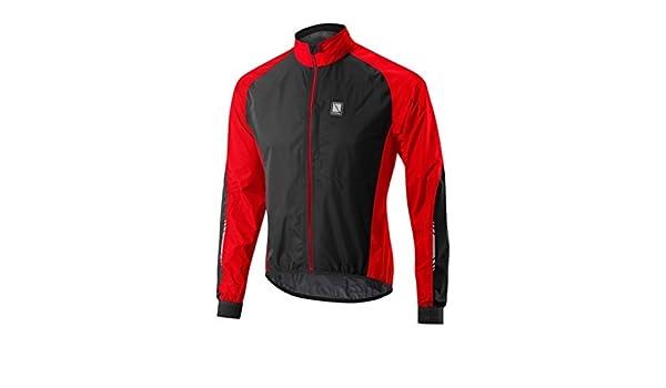 Altura Peloton Mens Windproof Cycling Jacket Red//Black