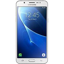 Samsung Galaxy J7 LTE 2016 J710M/DS 16GB, 5.5-Inch Dual SIM Factory Unlocked Phone - International Version (White)