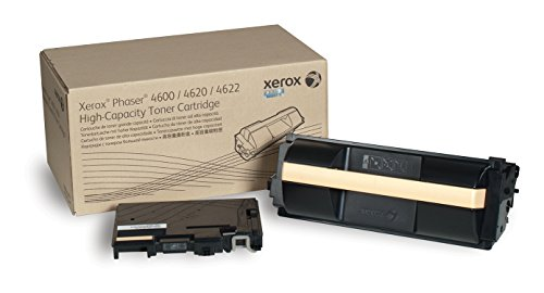Genuine Xerox High Capacity Black Toner Cartridge for the Phaser 4600/4620/4622, 106R01535 by Xerox