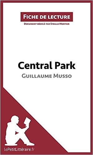 PARK EPUB MUSSO GRATUIT TÉLÉCHARGER CENTRAL