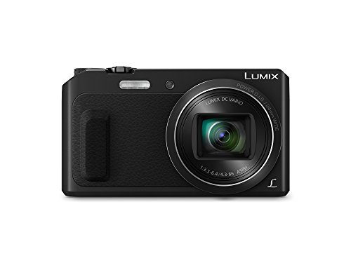 Panasonic DMC-ZS45 LUMIX 20X Zoom Camera with Wink-Activated Selfie Feature (Black) by Panasonic