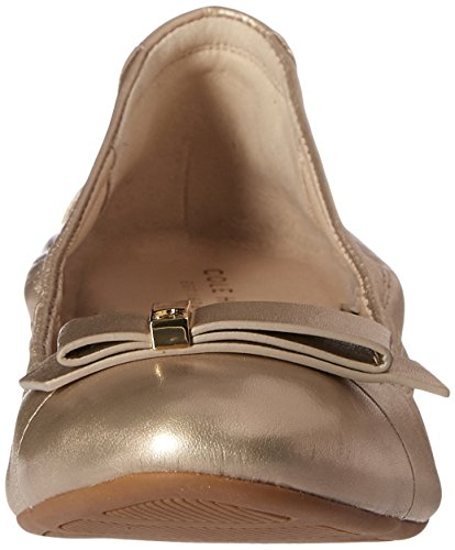 Ballet hardware Cole Haan Tali plana Gold/Metallic